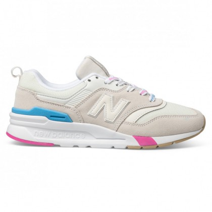 997H WOMENS Off White Grey Pink