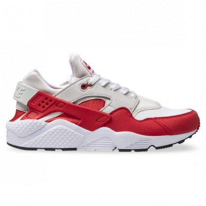 AIR HUARACHE White University Red Natural Grey Black