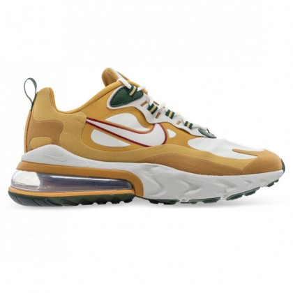 AIR MAX 270 REACT Club Gold Light Bone Flat Gold Wheat