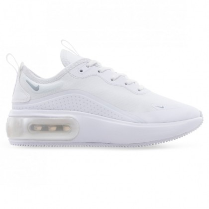 AIR MAX DIA WOMENS White Metallic Platinum White
