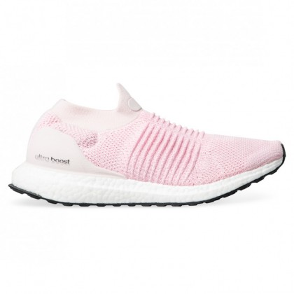 ULTRABOOST LACELESS WOMENS Orchid Tint True Pink Carbon