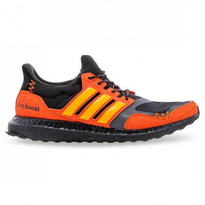 ULTRABOOST S&L Core Black Flash Orange Solar Orange