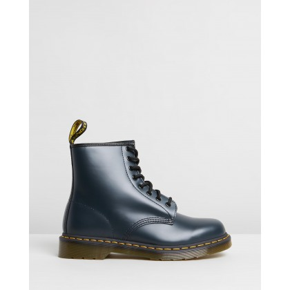 1460 8-Eye Boots - Unisex Navy by Dr Martens