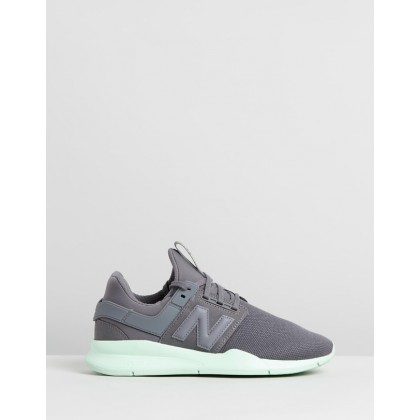 247 - Women's Covert Green by New Balance Classics