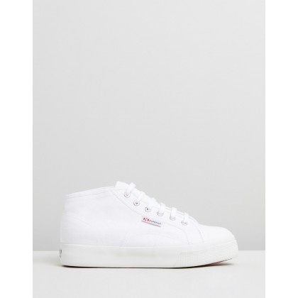 2578 Cotu Mid - Women's White by Superga