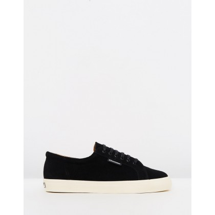 2804 Suede Black by Superga