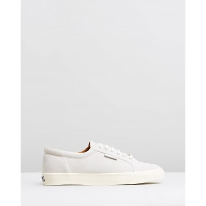 2804 Suede - Unisex White Cream by Superga