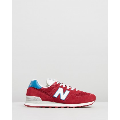 574 - Men's Scarlet by New Balance Classics