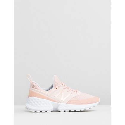 574 V2 - Women's Pink by New Balance Classics