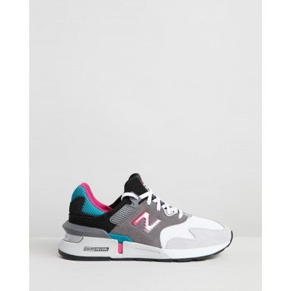 997 - Men's Grey & Green by New Balance Classics
