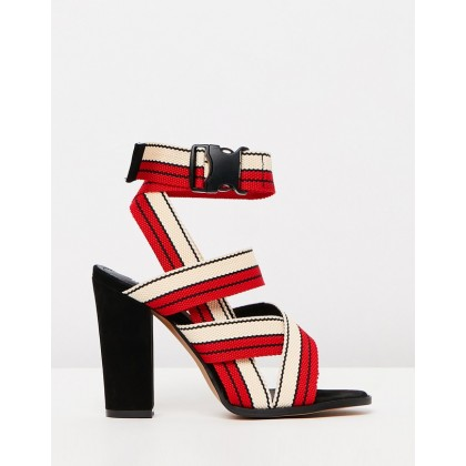 Aaliyah Sport Red & Black Combo by Alias Mae