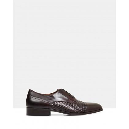 Abel Leather Shoes Bordo by Brando