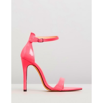 Ace Neon Pink Patent by Public Desire