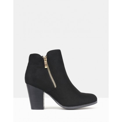 Ace Ankle Boots Black by Betts