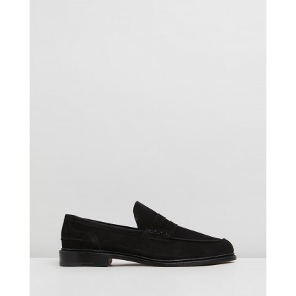 Adam Black Castorino Suede by Trickers