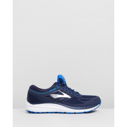 Addiction 13 - Men's Navy, Silver & Electric Blue by Brooks