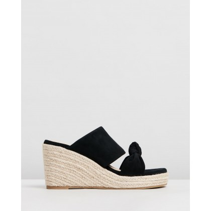 Adele Black Suede by Nude