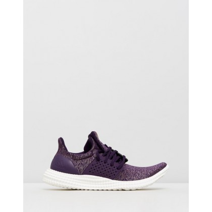adidas Athletics 24/7 Training Shoes - Women's Legend Purple, Cloud White & Ash Grey by Adidas Performance