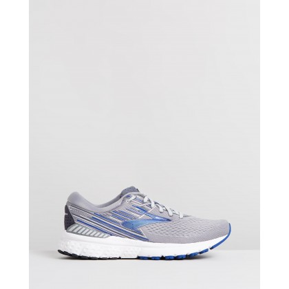 Adrenaline GTS 19 - Men's Grey, Blue & Ebony by Brooks