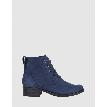 Adrian NAVY NUBUCK by Easy Steps