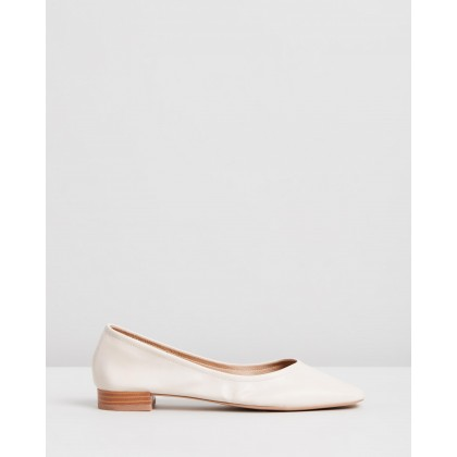 Adrianna Flats Stone Smooth by Spurr