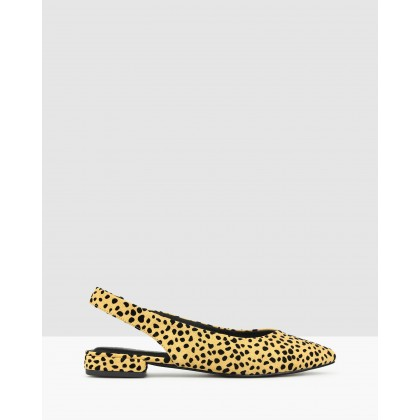 Adventure Slingback Flats Leopard by Betts