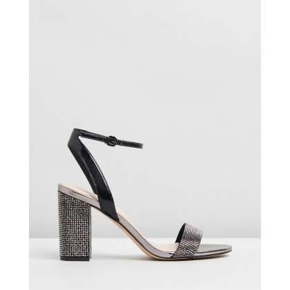 Agriedia Heels Jet Black by Aldo