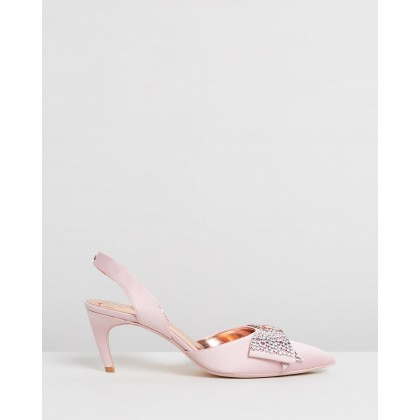 Aidela Heels Pink Blossom by Ted Baker