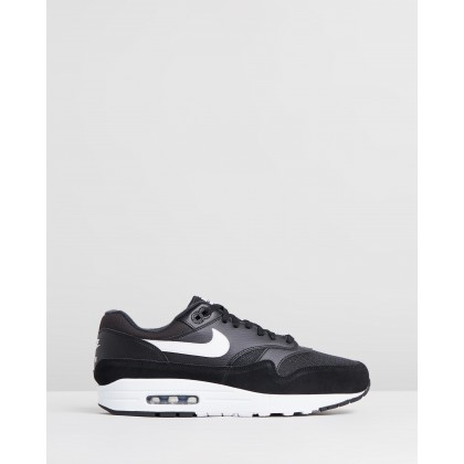 Air Max 1 - Men's Black & White by Nike