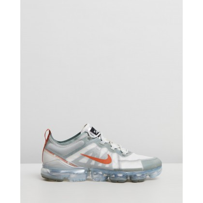 Air VaporMax 2019 - Men's Vintage Lichen, Dark Russet & Light Bone by Nike