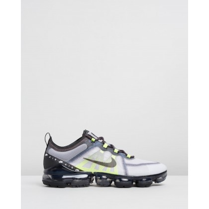 Air VaporMax 2019 - Men's Atmosphere Grey, Black, Thunder Grey & Volt by Nike