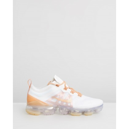 Air VaporMax 2019 SE - Women's Summit White, Copper Moon & Summit White by Nike