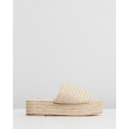 Alabama Mules Natural Raffia by Dazie
