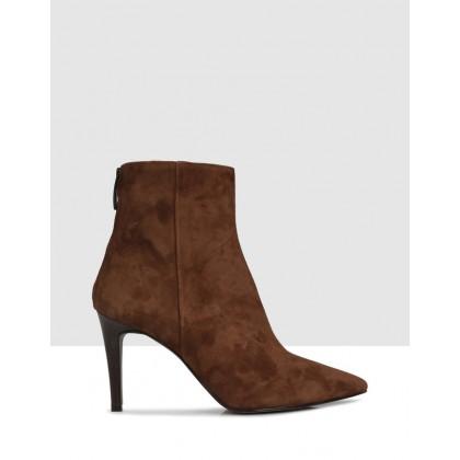Alba Ankle Boots Cognac 976 by Sempre Di