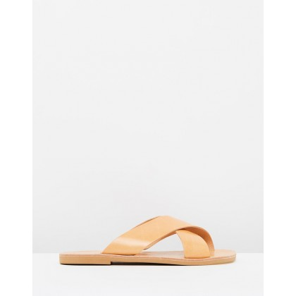 Aletheia Sandals Tan by Ammos