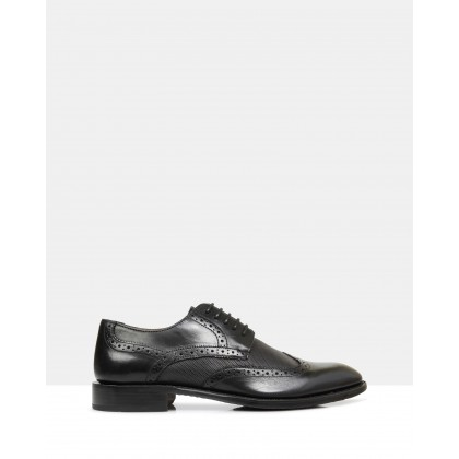 Alex Derby Brogues Black by Brando