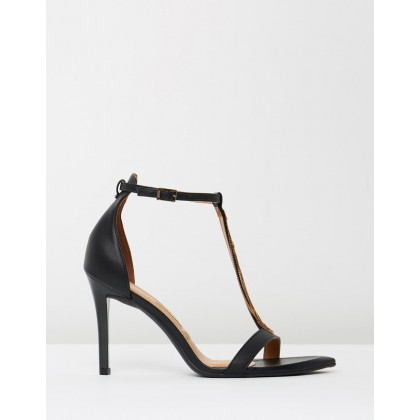 Alexia Heels Black by Vizzano