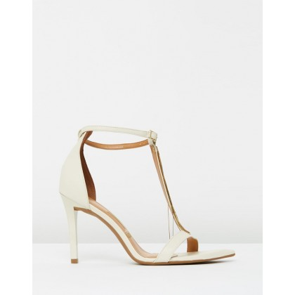 Alexia Heels Off White by Vizzano