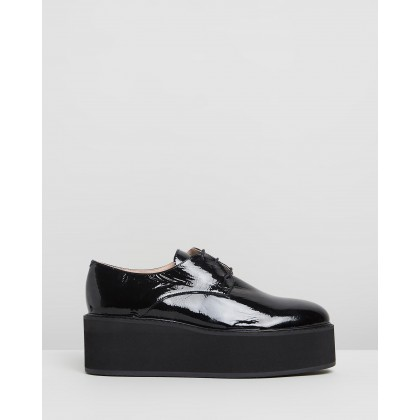 Alilou Black Patent Leather by Jonak