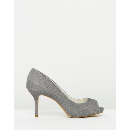 Aline Heels Sunrise & Pewter by Nina Armando