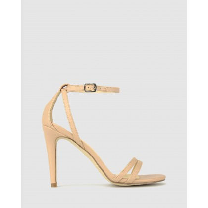 Allira Strappy Stiletto Sandals Nude by Betts