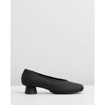 Alright Strapless Black by Camper