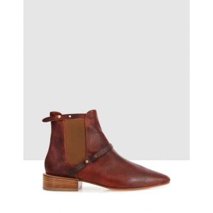 Apsley Boots LIGHT BROWN by Beau Coops