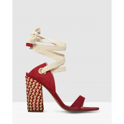 Arcadia Marsala Suede by Skin