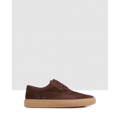 Arnett Sneakers Chocolate by Brando