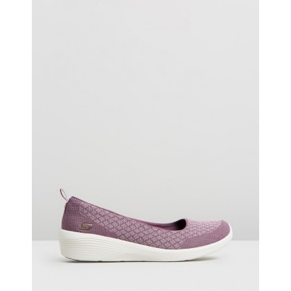 Arya - Get Real - Women's Purple by Skechers
