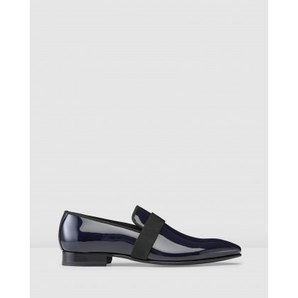 Ascott Loafers Navy by Aquila