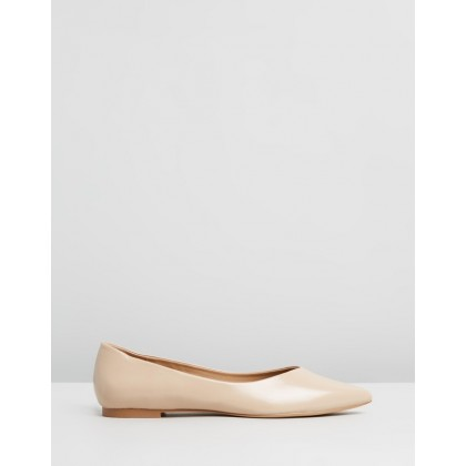 Astrid Flats Nude Box by Spurr