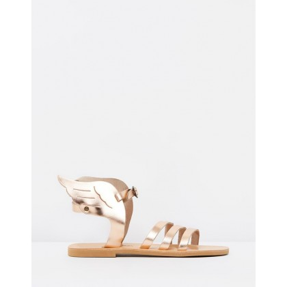 Athena Sandals Rose Gold by Ammos