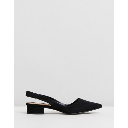 Audrey Black Suede by Therapy